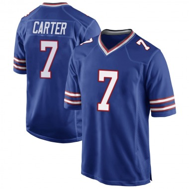 Men's Nike Buffalo Bills Cory Carter Team Color Jersey - Royal Blue Game