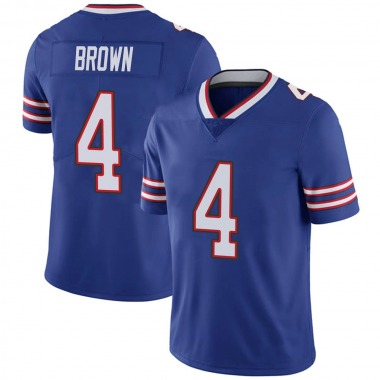 Men's Nike Buffalo Bills Isaiah Brown Team Color Vapor Untouchable Jersey - Royal Limited