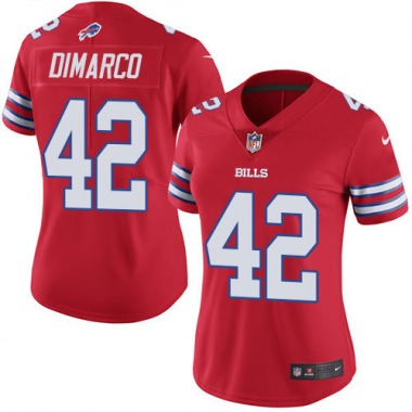 Women's Nike Buffalo Bills Patrick DiMarco Color Rush Jersey - Red Limited