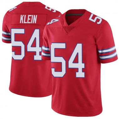 Youth Nike Buffalo Bills A.J. Klein Color Rush Vapor Untouchable Jersey - Red Limited