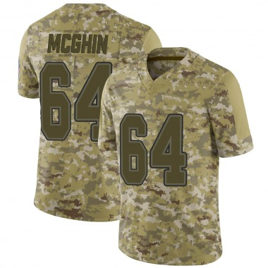 Youth Nike Buffalo Bills Garrett McGhin 2018 Salute to Service Jersey - Camo Limited
